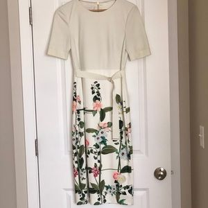 Ted Baker fitted dress size 3.